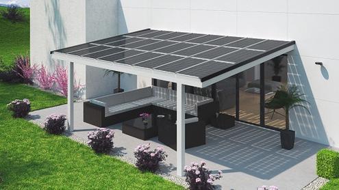 sonnen witterungsschutz mit zusatznutzen solarterrassen carportwerk gmbh pressemitteilung. Black Bedroom Furniture Sets. Home Design Ideas