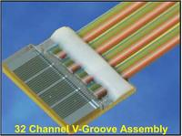 V-Groove Assemblies for Arrayed Waveguide (AWG) Devices