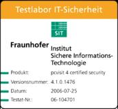 Testat pcvisit 4 CertifiedSecurity