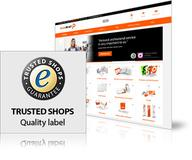 Trusted Shops certification for SAXOPRINT