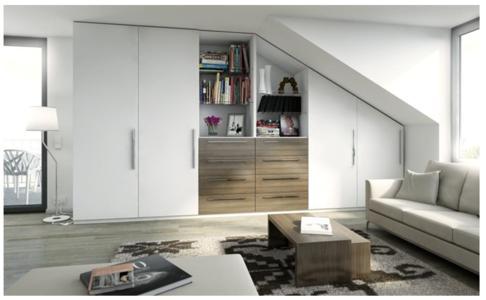 kniffelige kanten gekonnt in szene gesetzt mit individuellen m beln nach ma von meine. Black Bedroom Furniture Sets. Home Design Ideas