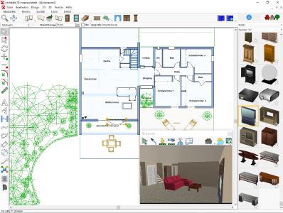 Garten und innenr ume planen dank architekt 3d x9 for Architekt gartendesigner 3d