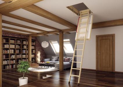 einbau einer bodentreppe setzt d mmung voraus testroom gmbh pressemitteilung. Black Bedroom Furniture Sets. Home Design Ideas