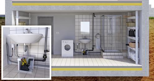 alarm im untergeschoss pentair jung pumpen gmbh pressemitteilung. Black Bedroom Furniture Sets. Home Design Ideas