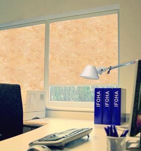 durchsichtige sonnenschutzrollos von ifoha sonnenschutz bei. Black Bedroom Furniture Sets. Home Design Ideas