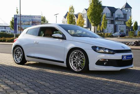 vw scirocco 3 tuning styling von jms mit barracuda t6. Black Bedroom Furniture Sets. Home Design Ideas