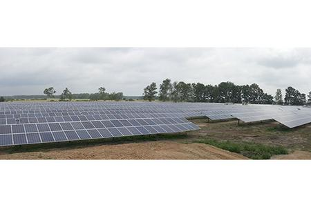 1 56 mw solarpark mit m50a wechselrichter von delta auf ehemals verlassenem gel nde in lynow. Black Bedroom Furniture Sets. Home Design Ideas