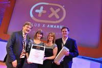 Bernd Sauter und sein Team freuen sich über die Auszeichnung