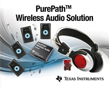 TI sets new tune for wireless digital audio streaming ...