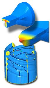3d simulations software verbessert extrusionsprozesse for Fem kenntnisse