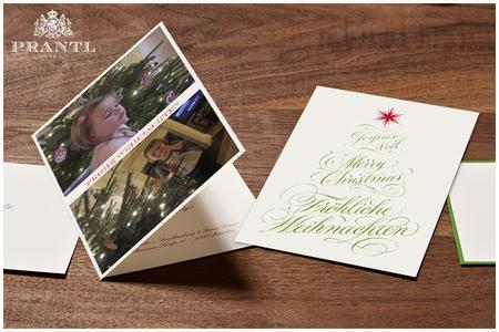weihnachtskarten von prantl zum fest verschicken fr ant. Black Bedroom Furniture Sets. Home Design Ideas