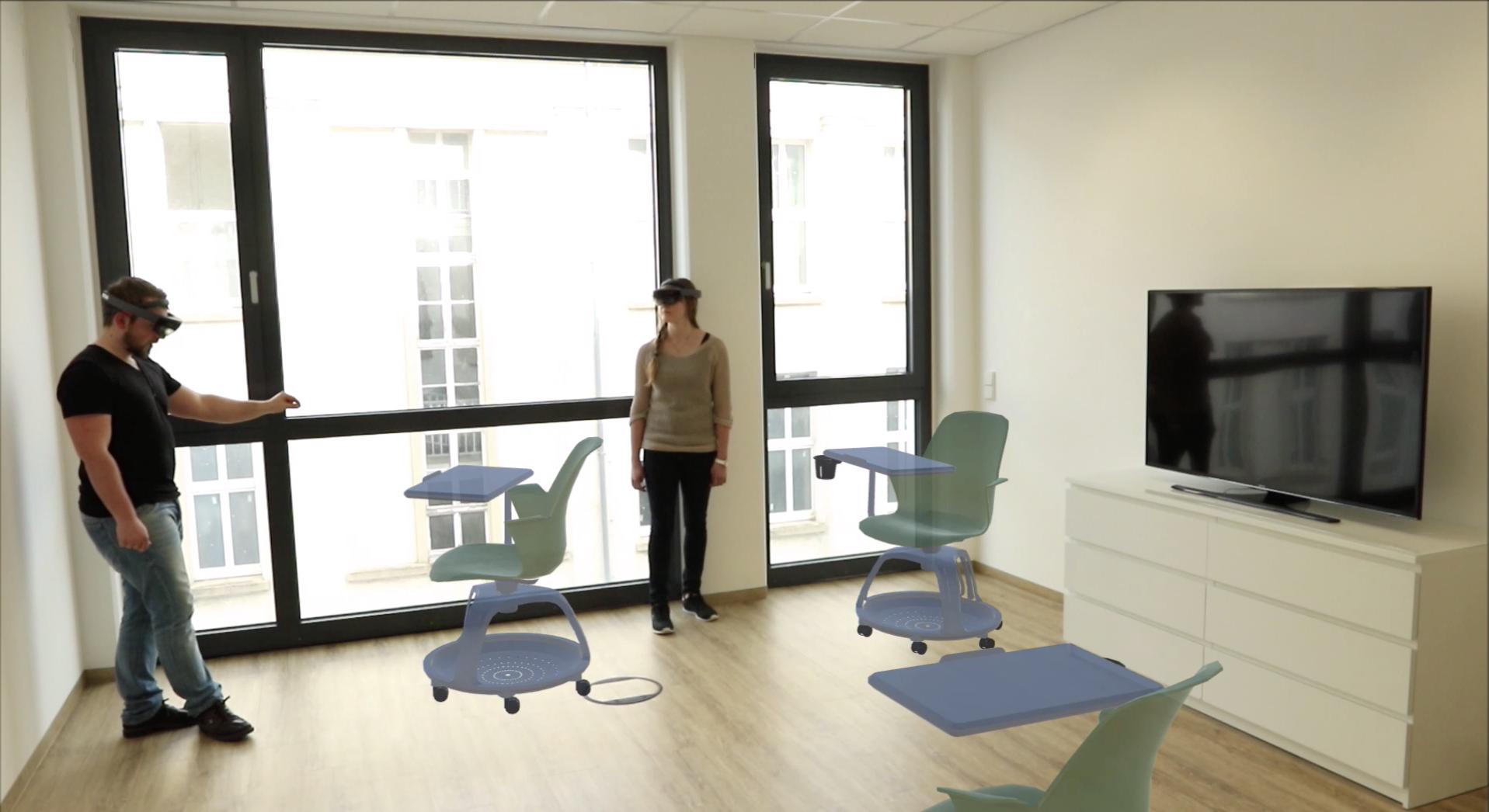 Von Hololens Zu Holofurnish Die Zukunft Des Interior Designs Mit Medialesson Mixed Reality