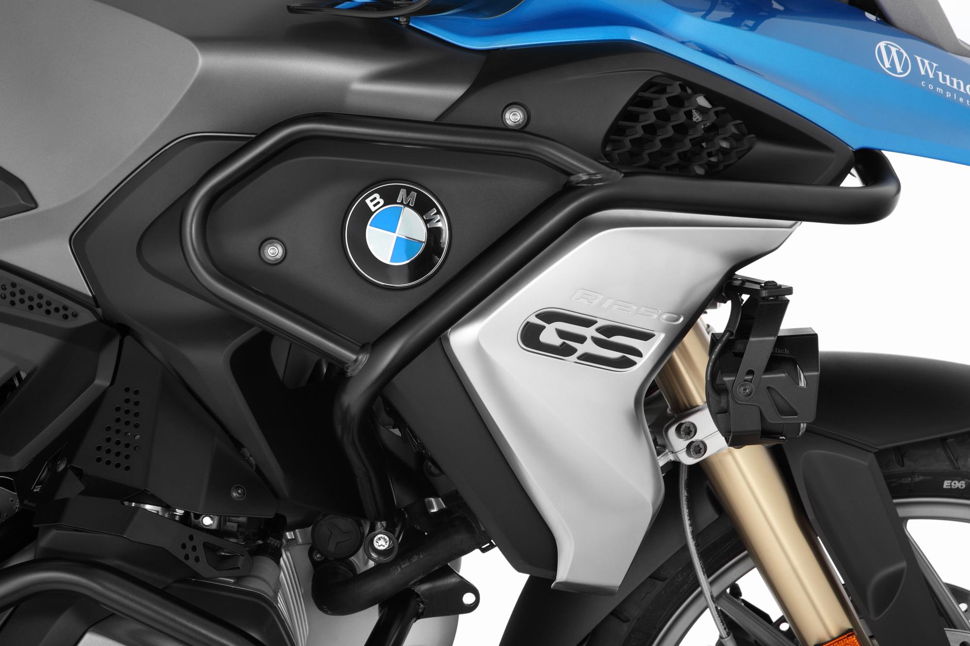 LC Motorrad Motorschutzb/ügel-Schutz-Auto Dekorative Schutz-Block 22-25-28mm Color : R1200GS Black F/ür BMW R1250GS R 1200GS