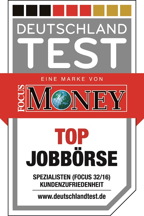 TOP Jobboerse Siegel