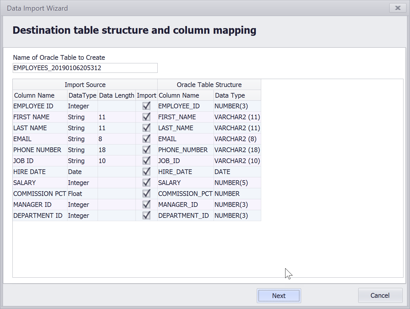 Excel connection in KeepTool Hora grows more powerful