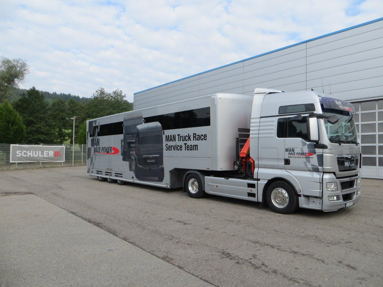 Schuler Delivered Two New Schuler Race Trailers To The Man