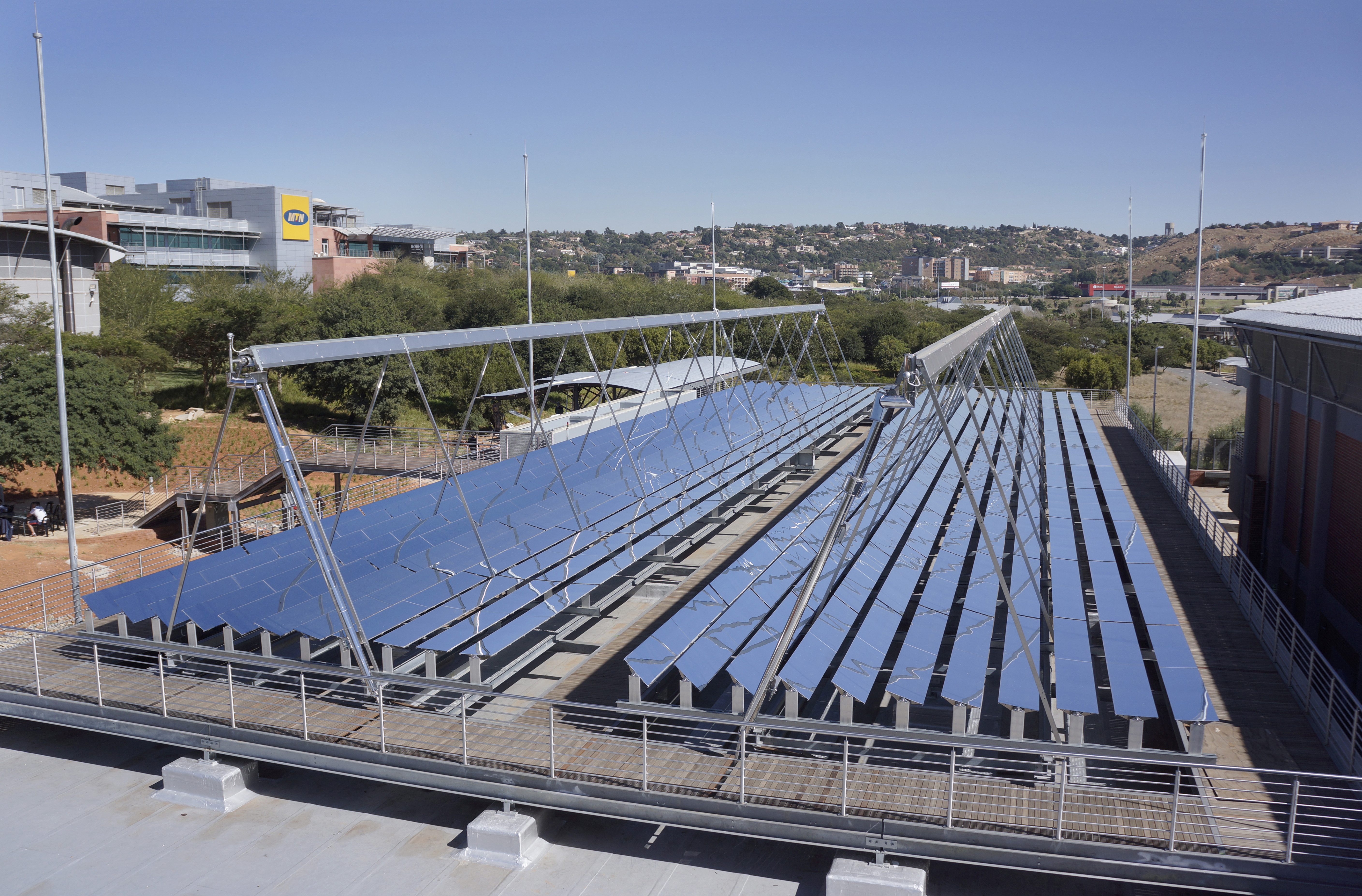 dena Solar Roof Programme First concentrated solar thermal
