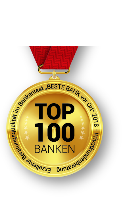 beste bank vor ort 2018 die top 100 stehen fest. Black Bedroom Furniture Sets. Home Design Ideas