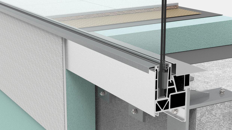 Gelandersystem Aqua Viva Mit Integrierter Balkonentwasserung Abel