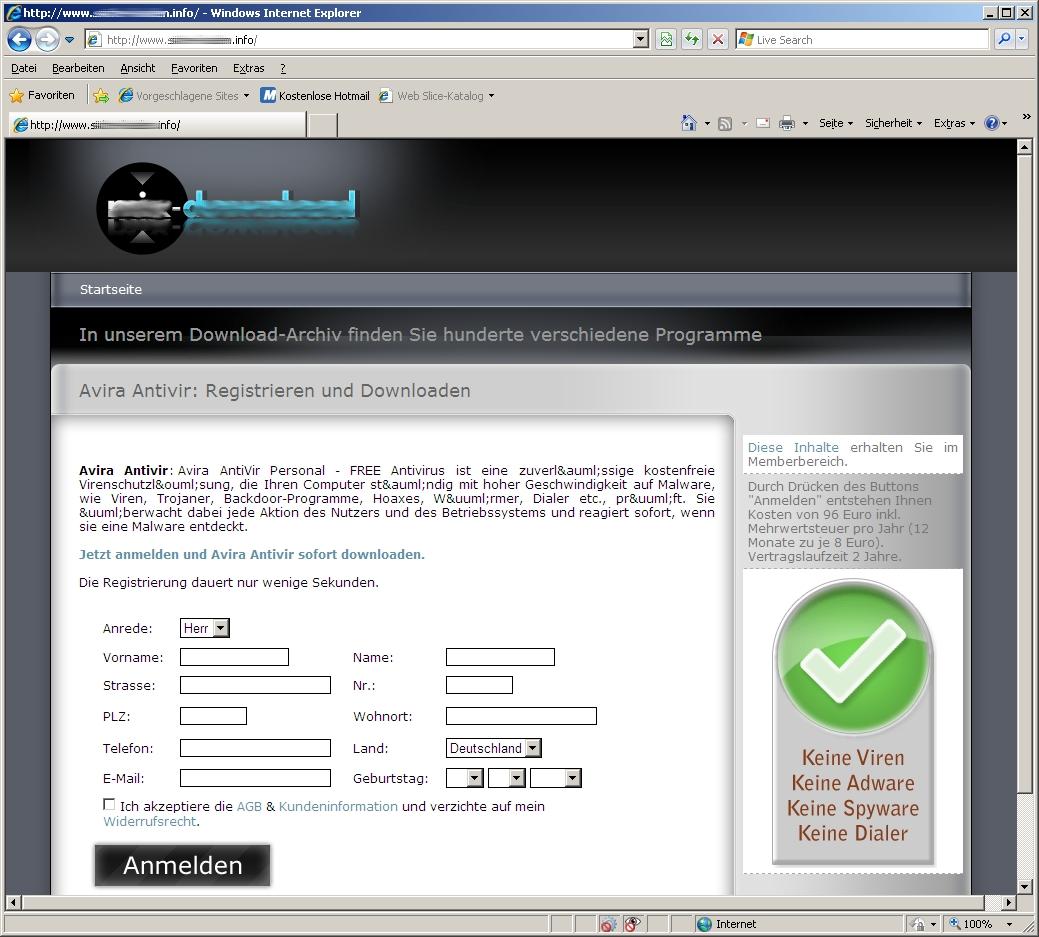 hotmail anmelden registrieren