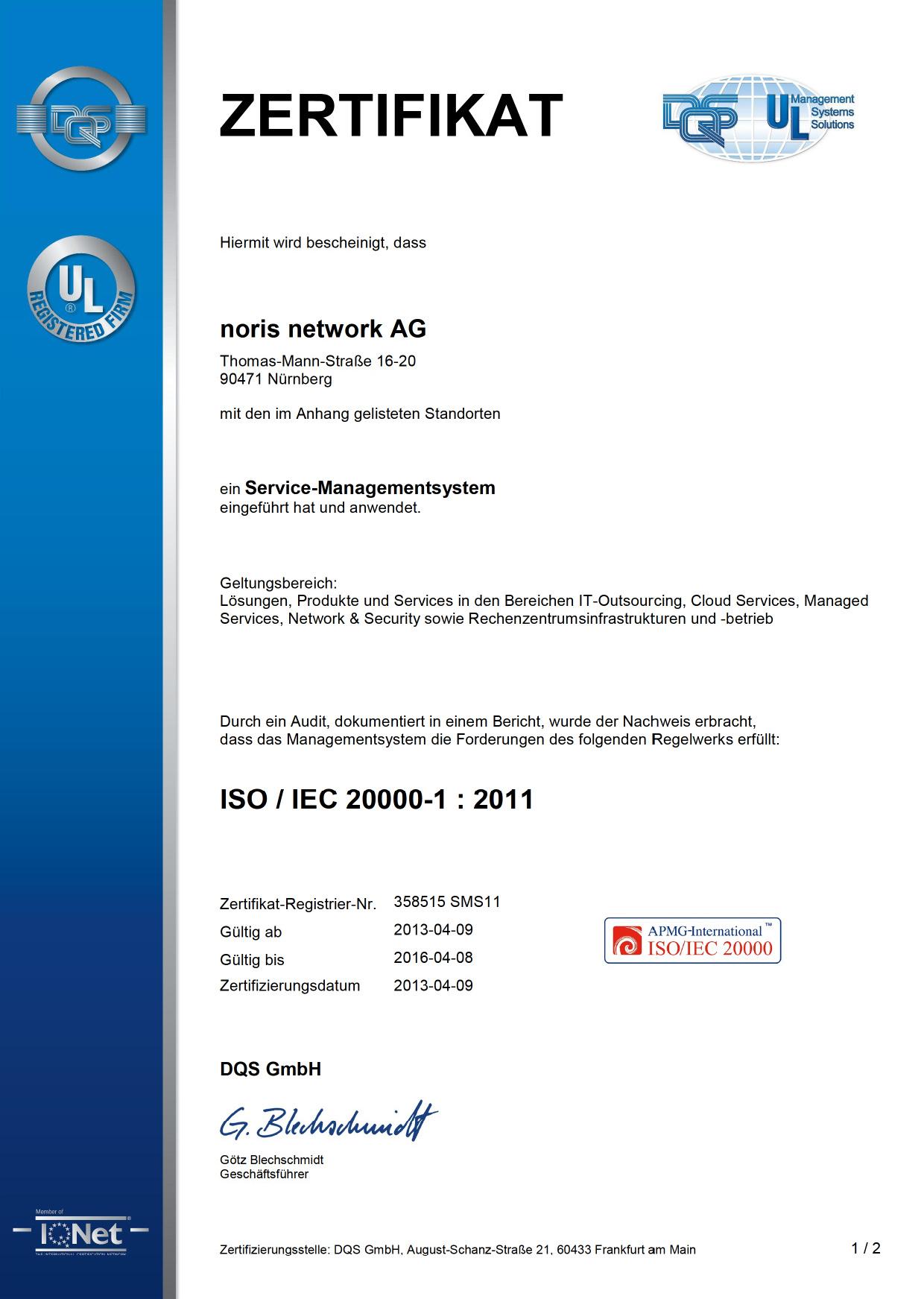 Zertifizierung Von It Service Und It Sicherheitsmanagement In Einem