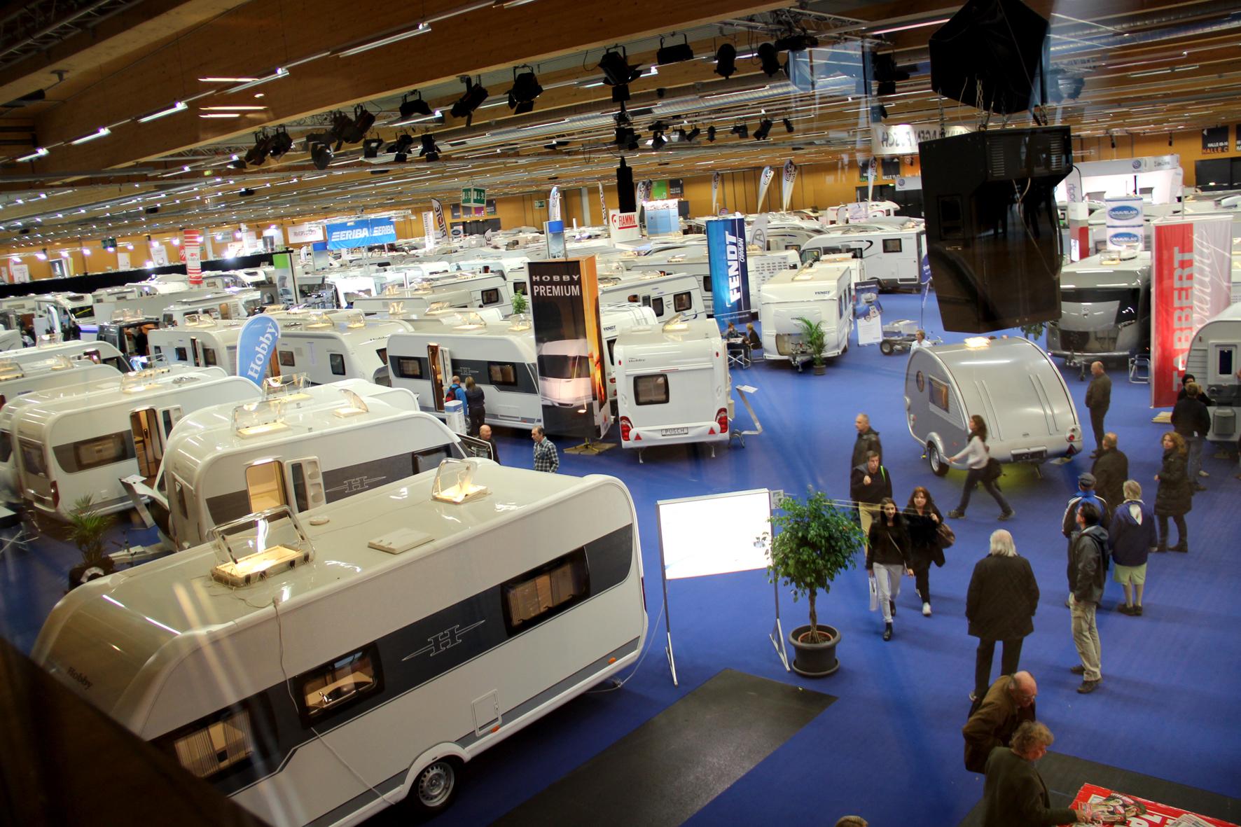 Innovationsplattform Caravan Salon Austria, Messe Wels ...