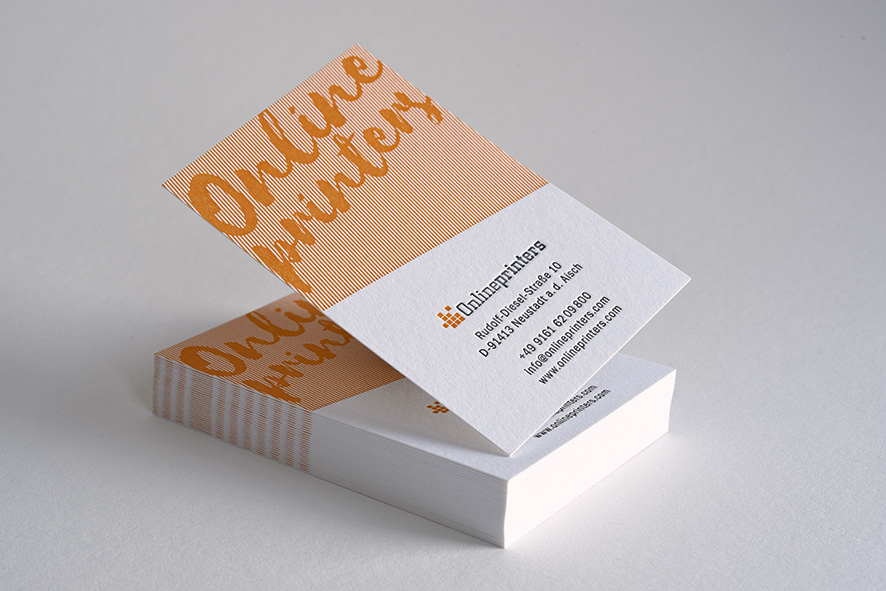 Letterpress Business Cards Now Available For Everyone