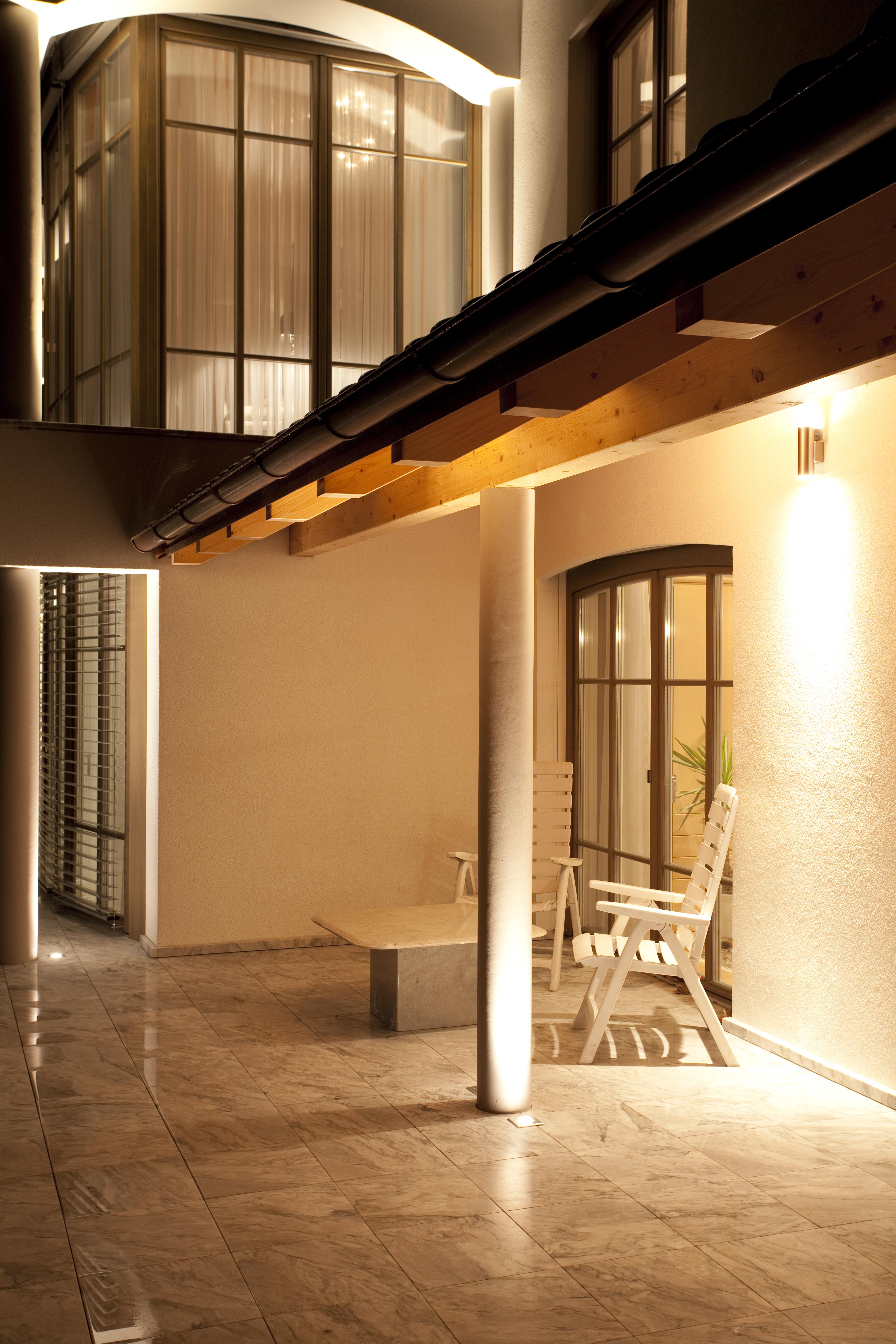 Privathaus Ihrlerstein Dachunterleuchtung