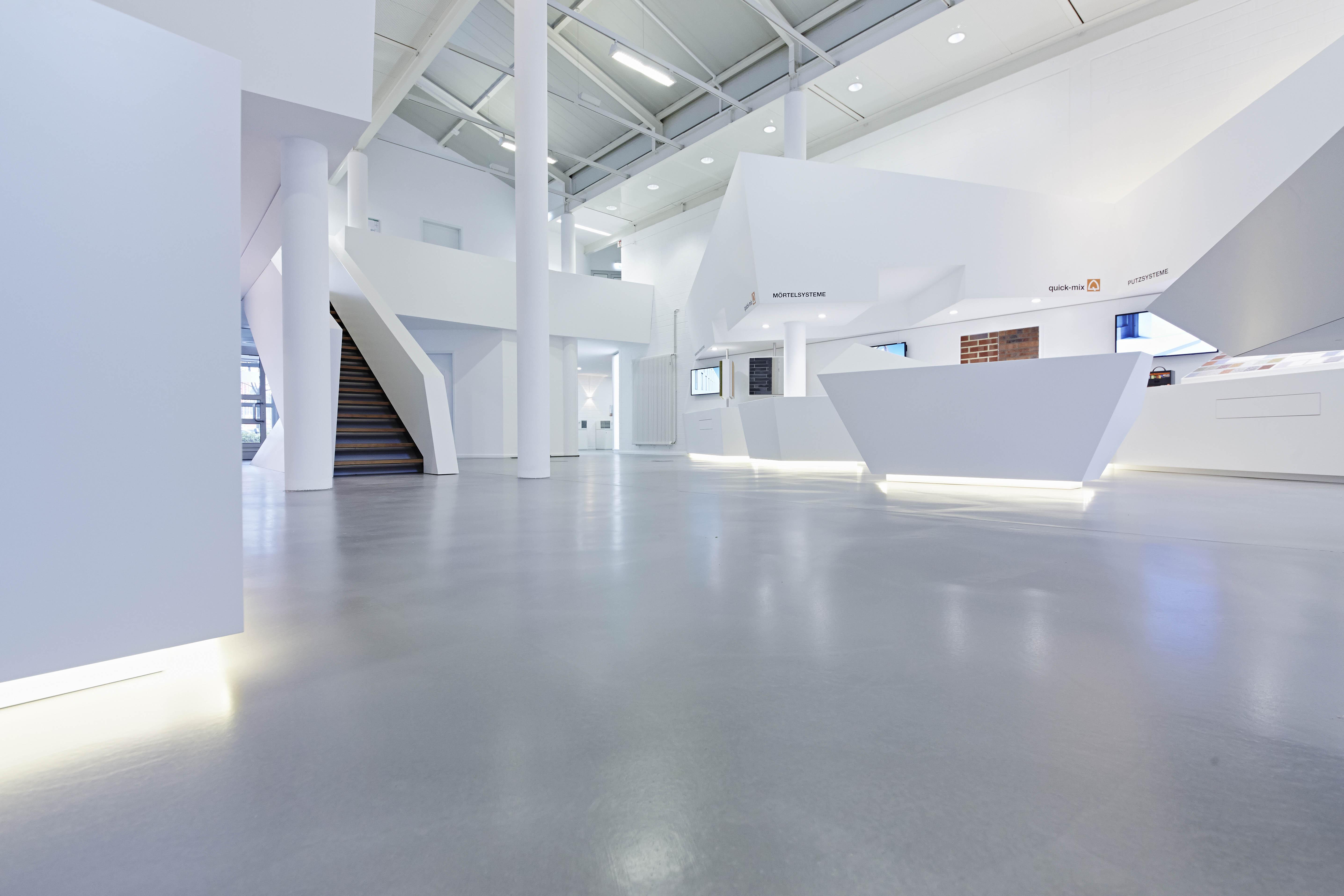 quick-mix: belastbare und dekorative Böden für Industrie und ...