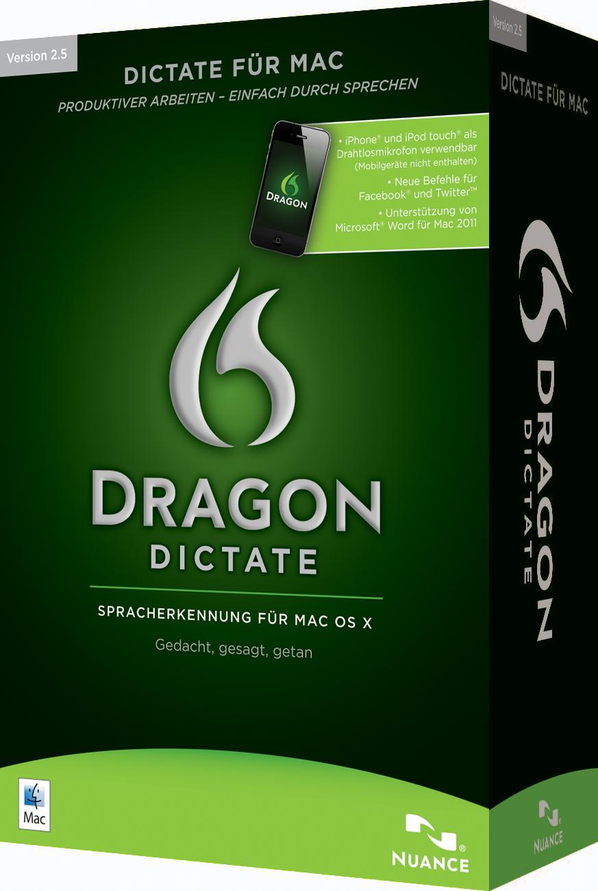 Nuance bringt Dragon Dictate für Mac 225.25 auf den Markt, Nuance ...