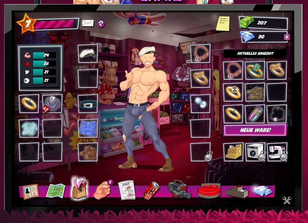 Erotik Browsergame