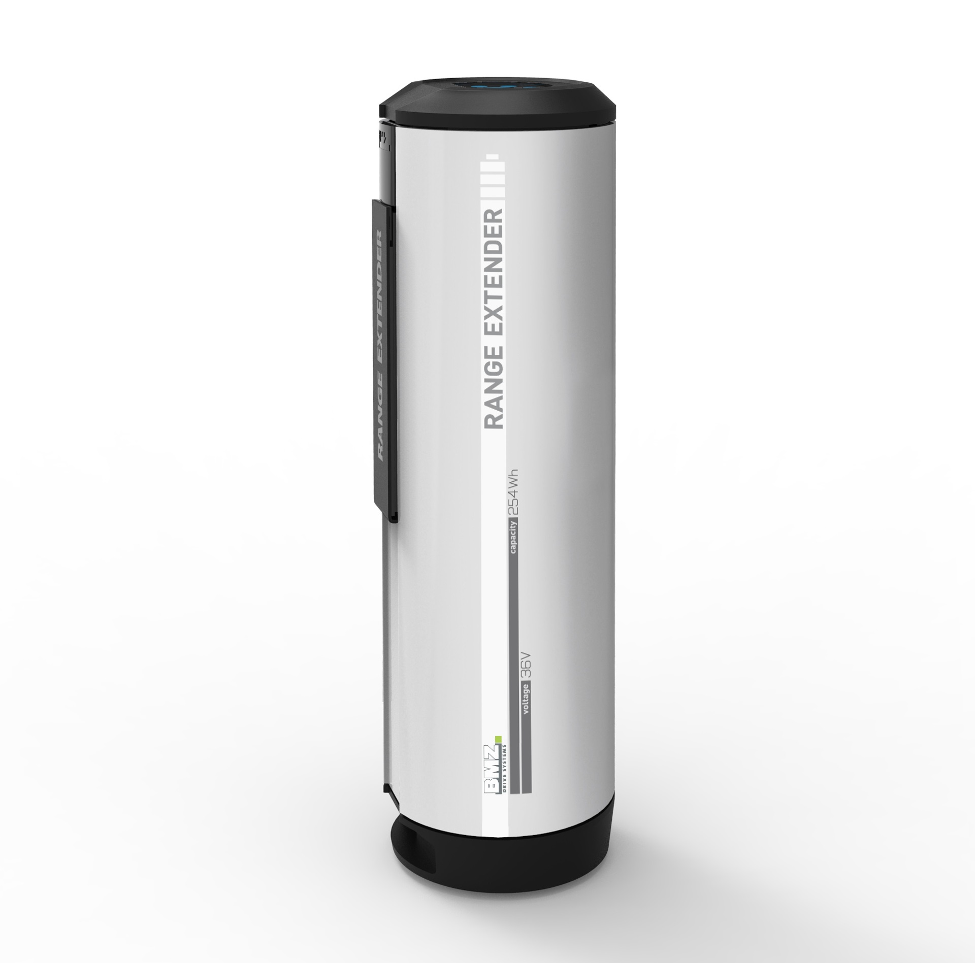 The Power Bank for E-bikes - the Range Extender by BMZ, BMZ