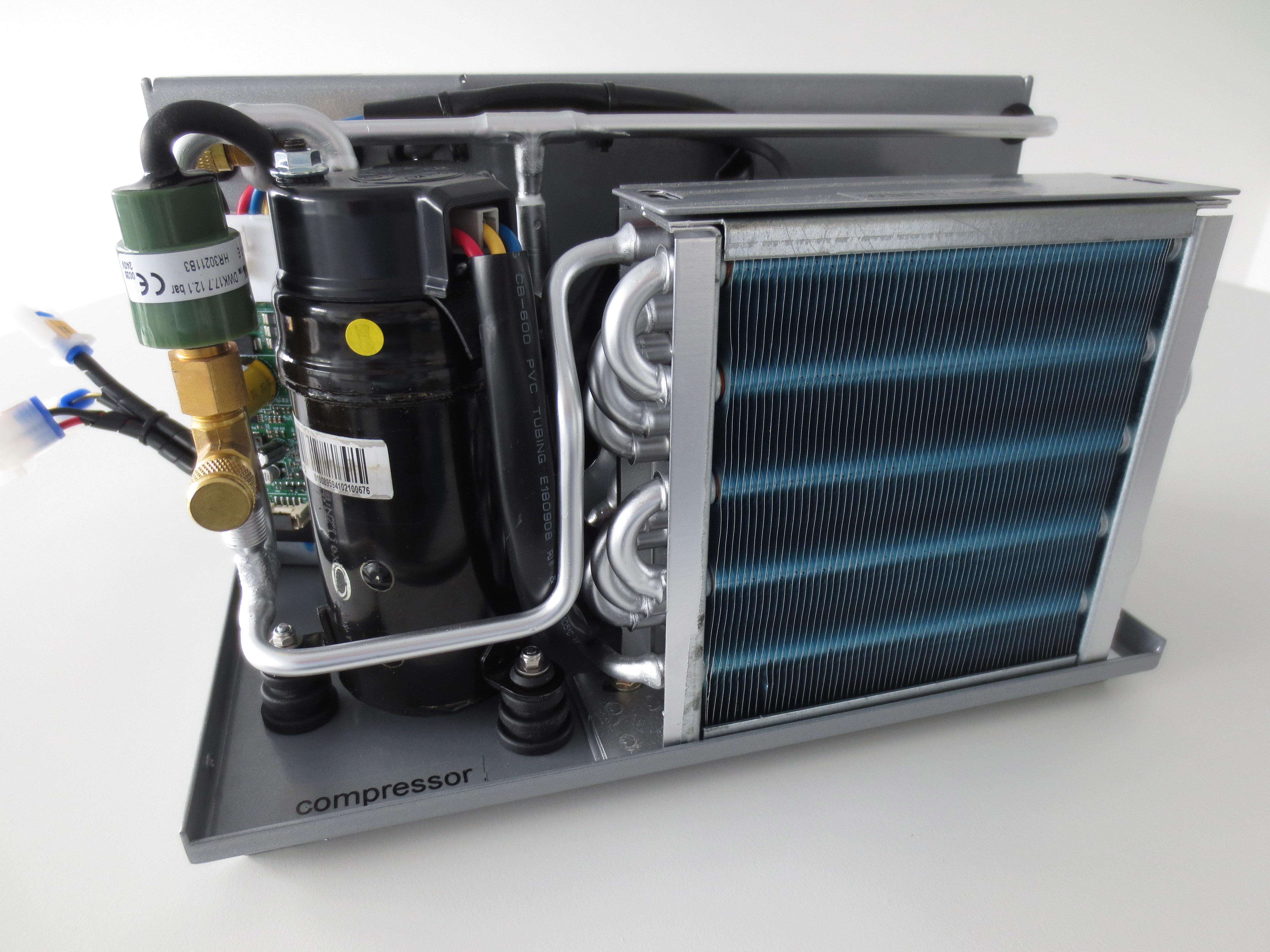 Kompakt Mit Gro 223 Er Laufruhe Minikompressor K 252 Hlsysteme