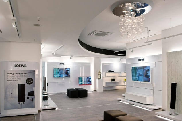 loewe er ffnet neuen flagship store in berlin loewe technologies gmbh pressemitteilung. Black Bedroom Furniture Sets. Home Design Ideas