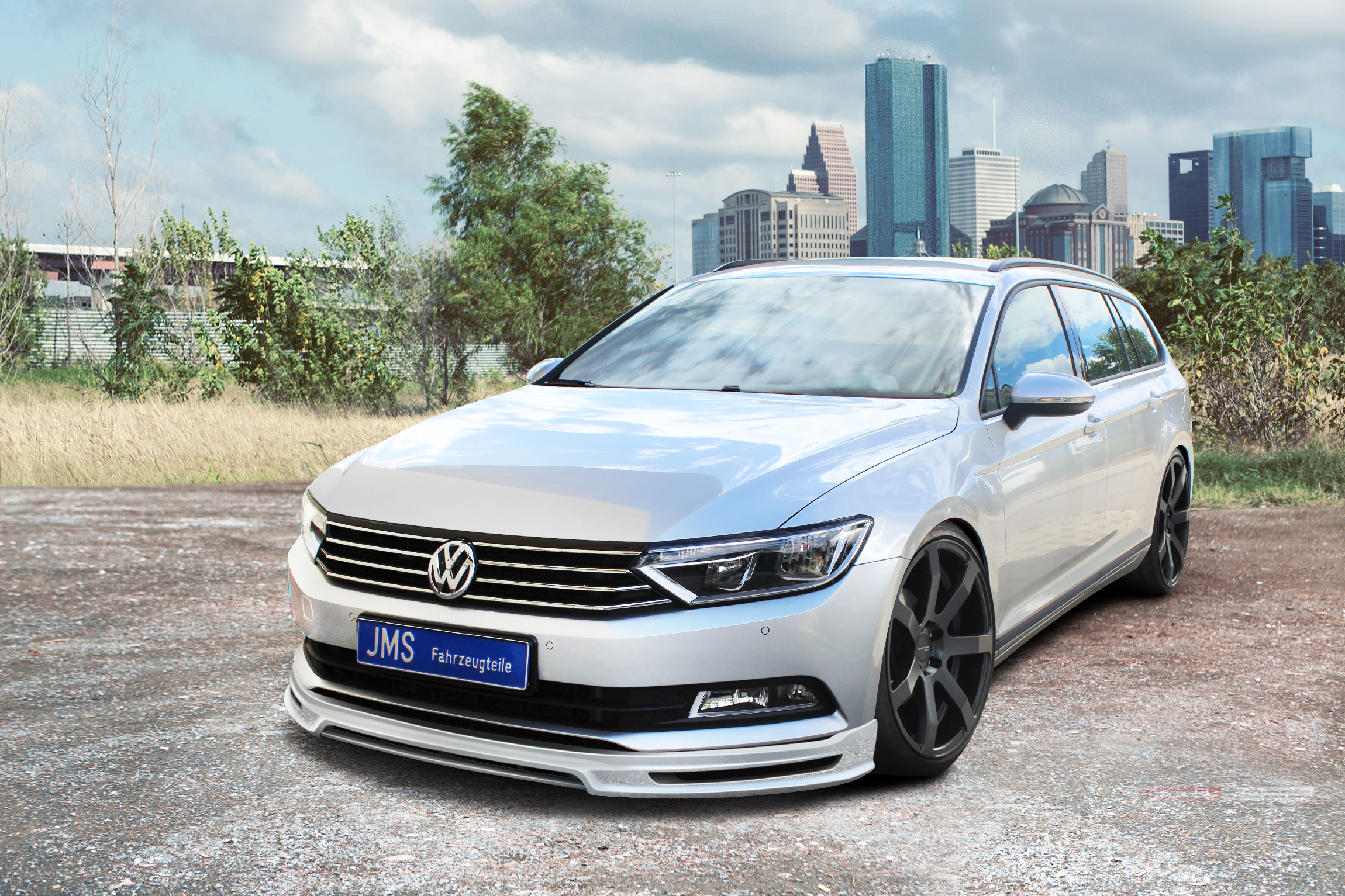 New Styling For The New Passat 3c B8 From Jms Fahrzeugteile Gmbh Jms Fahrzeugteile Gmbh Press Release Pressebox