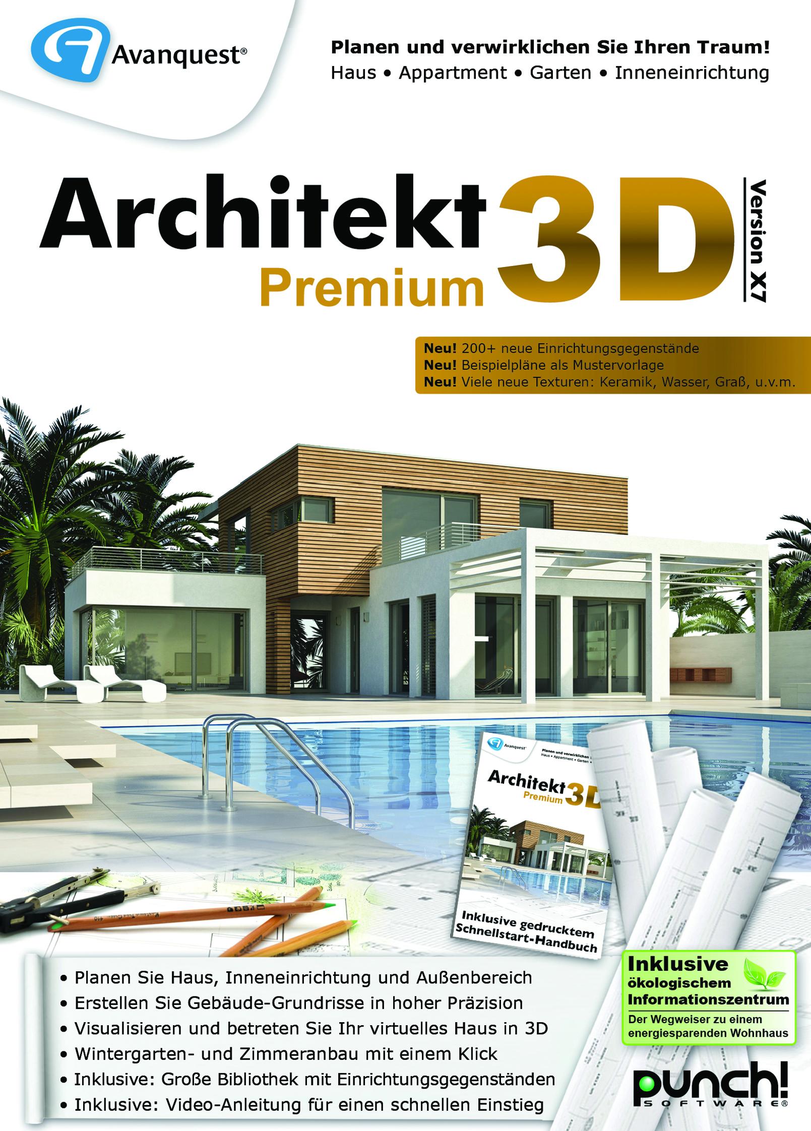 Fotorealistisch und detailliert mit Architekt 3D X7 Premium das ...
