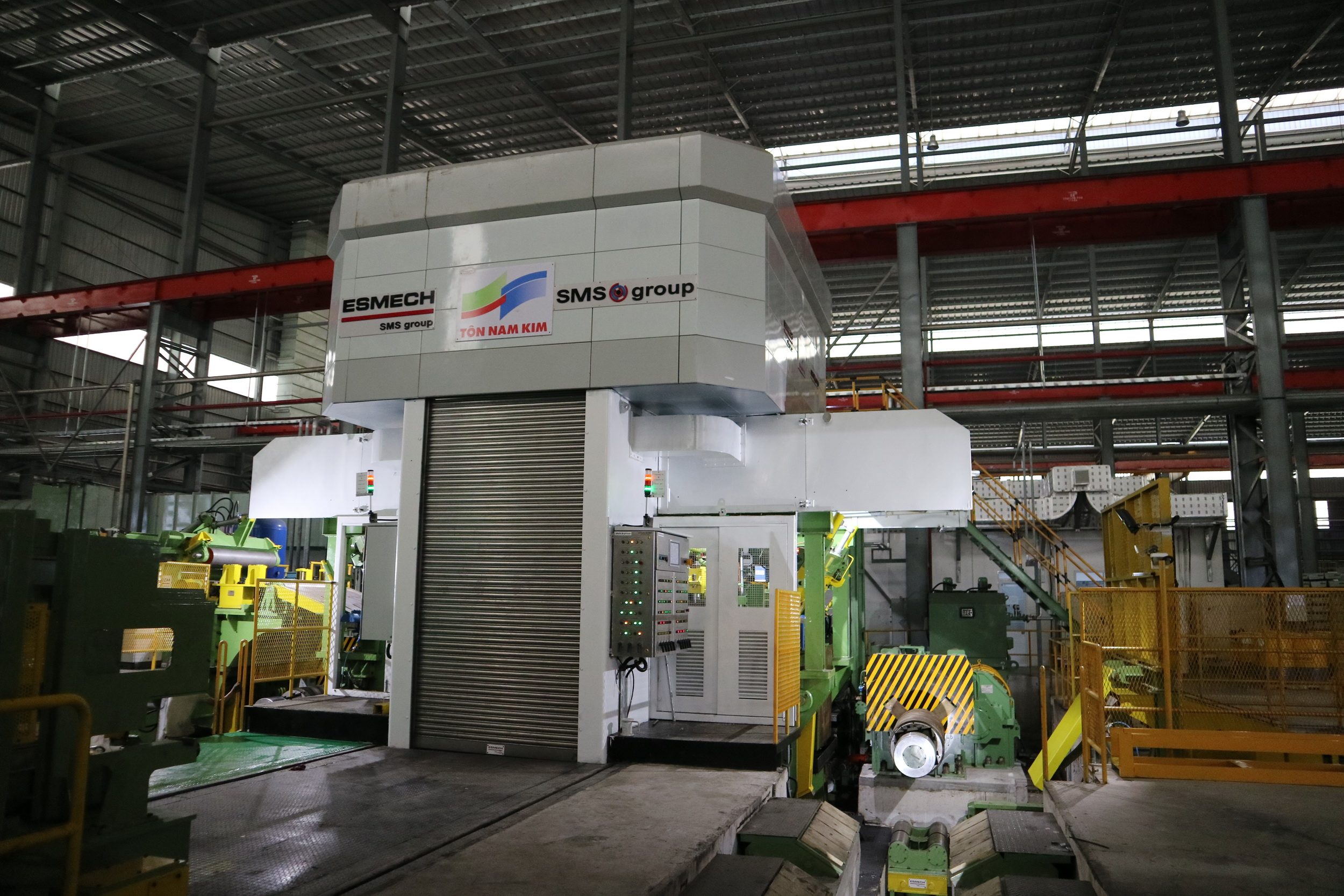Nam Kim Steel has successfully started operation of its third cold rolling  mill supplied by SMS group, SMS group GmbH, Press release - PresseBox