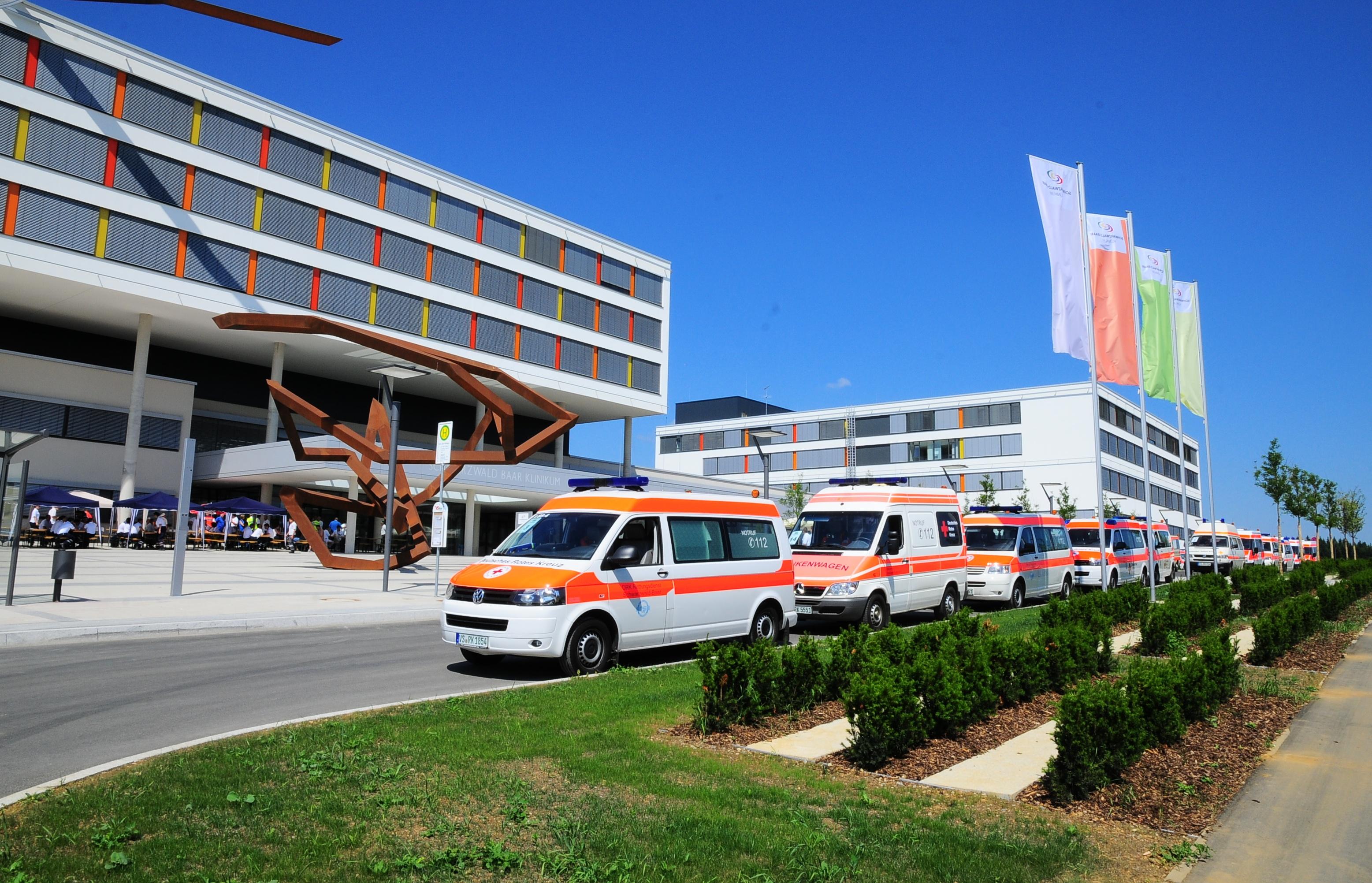 Umfassendes Sicherheitssystem für Krankenhaus-Neubau in Villingen ...