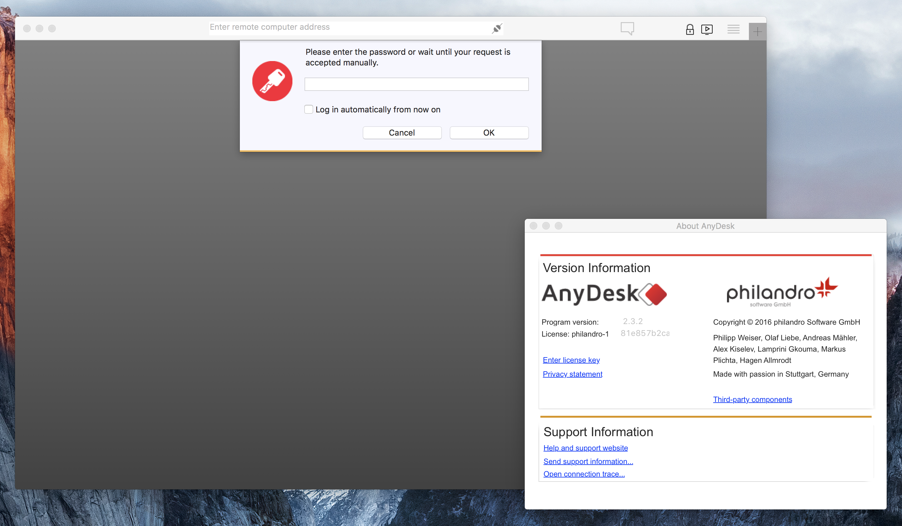 any desk mac