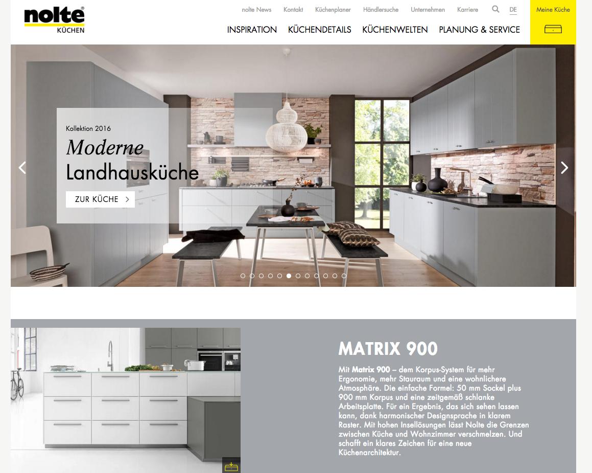 twt sorgt f r neues erfolgsrezept bei nolte k chen twt interactive gmbh pressemitteilung. Black Bedroom Furniture Sets. Home Design Ideas