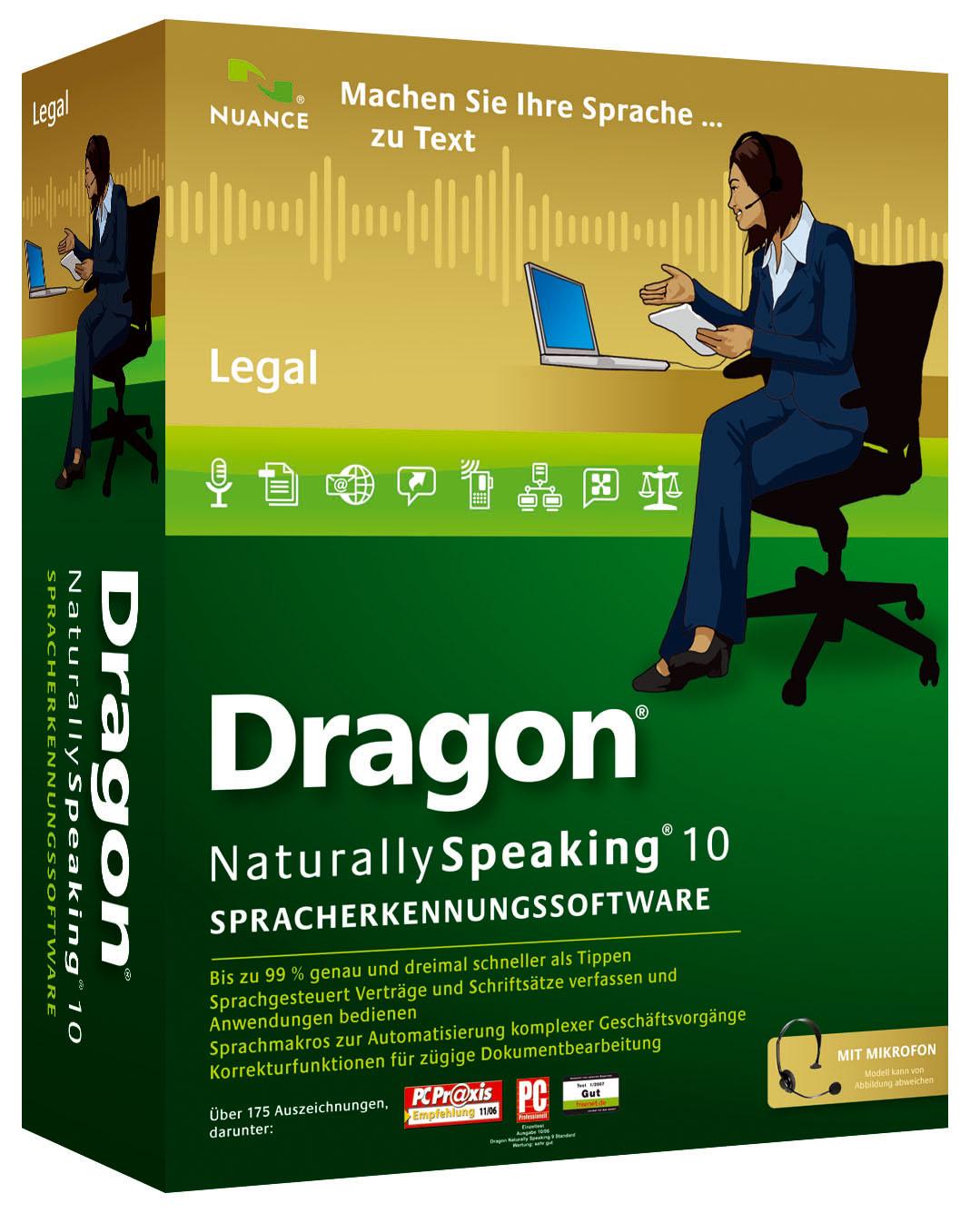 Nuance präsentiert Dragon NaturallySpeaking Legal 25   die ...