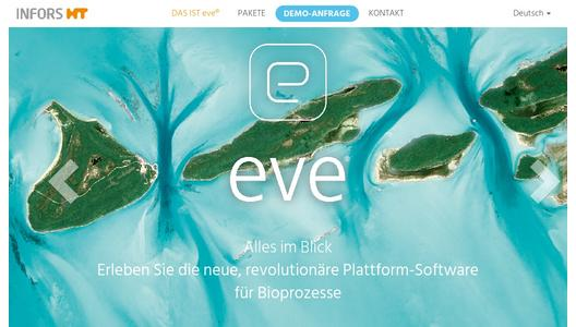 Product website eve