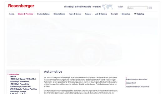 Rosenberger-Automotive