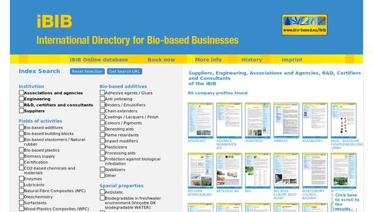 International Directory for Bio-based Businesses