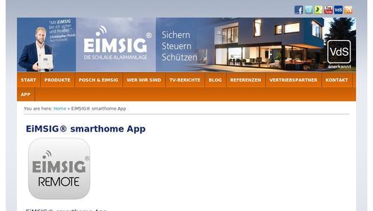 Eimsig Android App Mit Allen Funktionen Im Play Store Erhaltlich