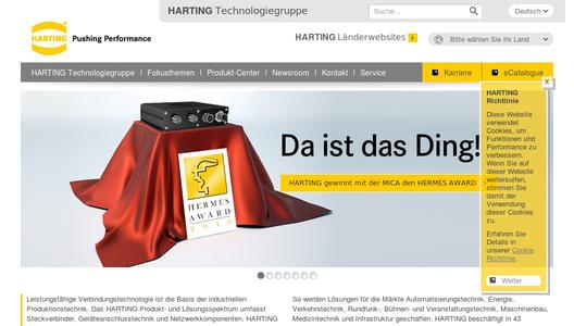 "Weitere Infos zu ""HARTING Technology Group set to further expand US activities"""