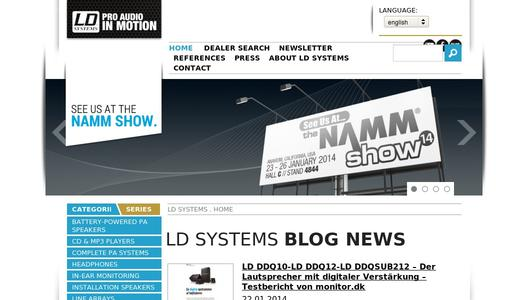 "Weitere Infos zu ""Standing Out All Down The Line - the LD Systems MAUI 44 Powered Column PA"""