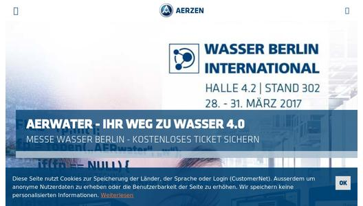 "Weitere Infos zu ""AERwater. The compact performance chain heading for Water 4.0!"""
