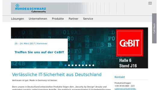 "Weitere Infos zu ""Security for Industry 4.0 Is a Key Topic at the Hannover Messe Trade Fair"""