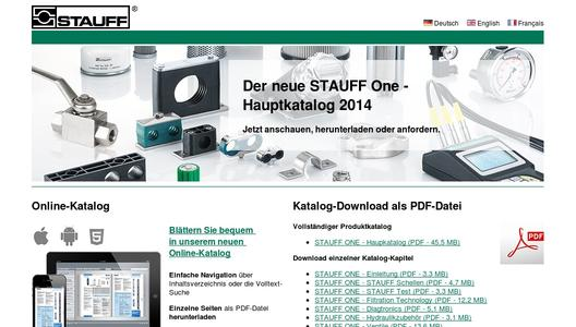 "Weitere Infos zu ""Updated Stauff One product catalogue available"""